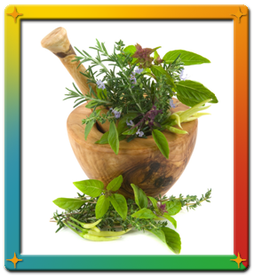 Herbs for natural healing process